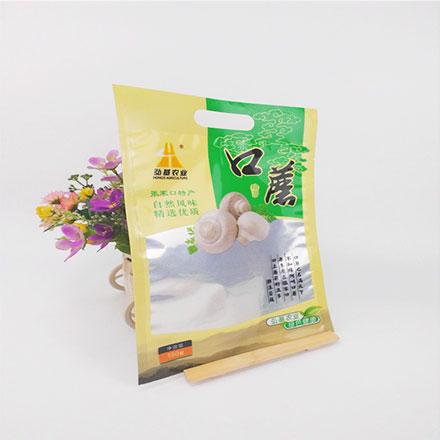 Eco Friendly Food Grade Die Cut Handle Plastic Bags