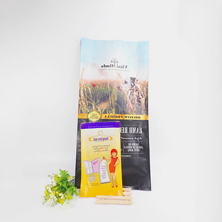 Environment Protection Biodegradable Pet Food Bag