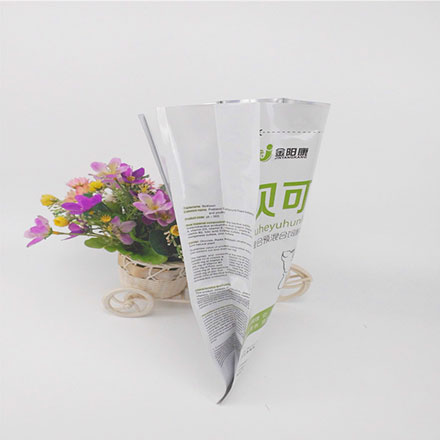 Hot Sale Plastic Quad Seal Bag for Compound Premixed Feed Plastic Packaging Bag