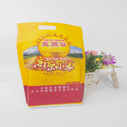 Low Price with High Quality Plastic Bag for Small Rice Packing