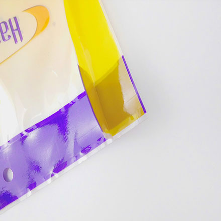 Three Side Sealing Plastic Bag For Clothes Dust Proof Bag Packaging
